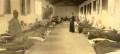 Zona di TUMBARINO Interno dell'infermeria per malattie comuni. Album di foto acquarellate.