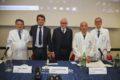 BdM 2018 - Fondazione Gemelli IRCCS- da sn Rocco Bellantone, Marco Elefanti, Giovanni Raimondi, Giovanni Scambia, Giampaolo Tortora